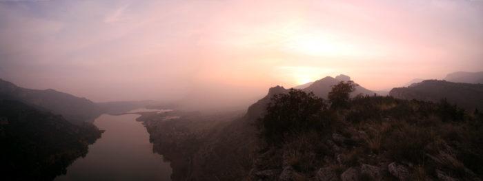 Vista de Sant Llorenç de Montgai