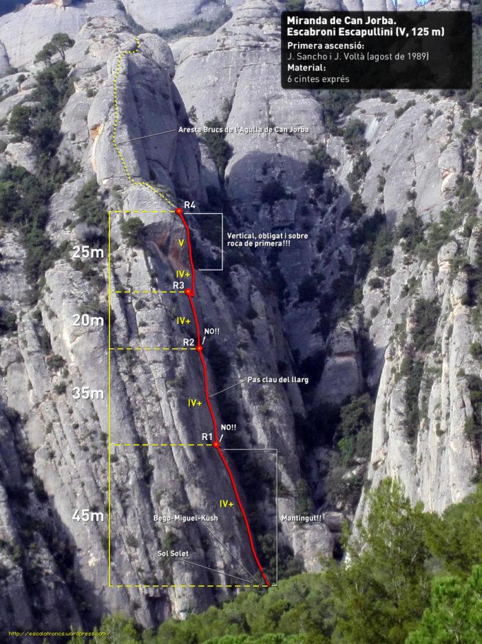 Ressenya de la via Escabroni-Escapullini