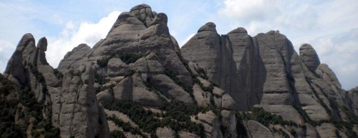 Magnífica vista de les Talaies i Ecos des de la R-7