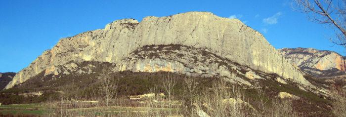 El Rumbau: solemne paret de conglomerat discret
