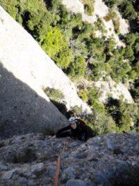 Conxita Garcia Pérez a la Roca de Sant Cugat