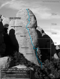 La GEDE de l'Agulla Gran del Pas del Príncep