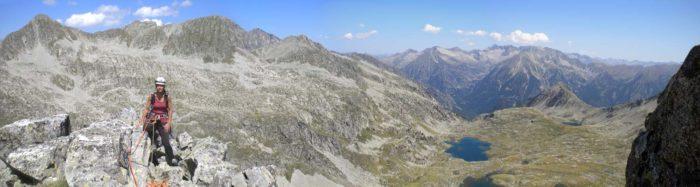 Amplies vistes des del cim de la Tuca de la Solana de Llauset