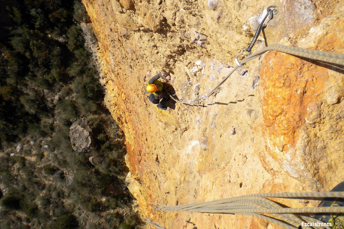 Directa al Cilindre a Sant Llorenç de Montgai