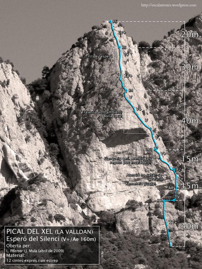 Ressenya de la via Esperó del Silenci a La Valldan
