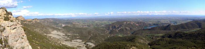 Montroig, talaia privilegiada sobre St. Llorenç, el Segre i la Plana