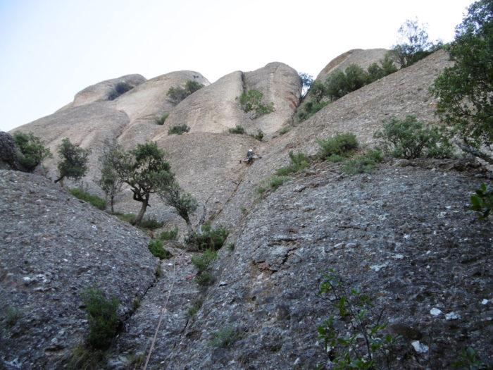 Entrada per la Ribas-Velasco