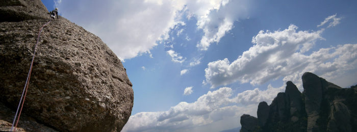 La GEDE de la Prenyada és la via més assequible del monòlit