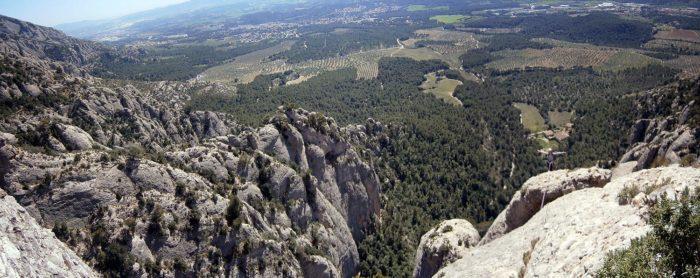 Magnífiques vistes des del capdamunt de l'Agulla de Can Jorba