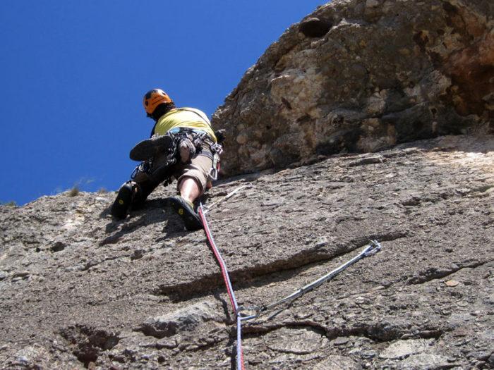 L'Avi Joan ofereix una escalada de dificultat molt moderada