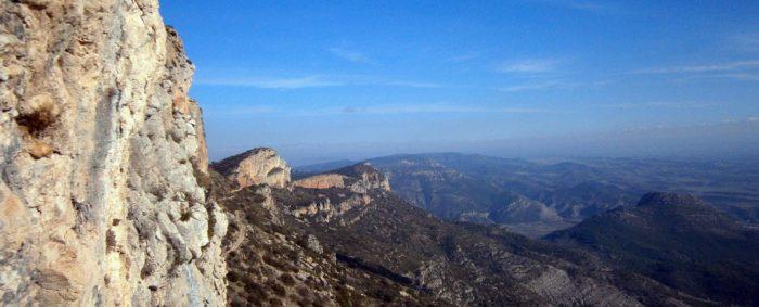 La Pala del Coll i el Montroig més oriental