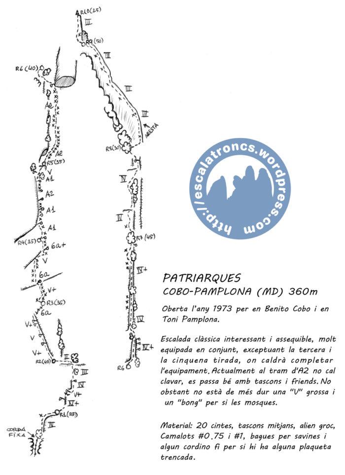 Ressenya de la via Cobo-Pamplona a Patriarques