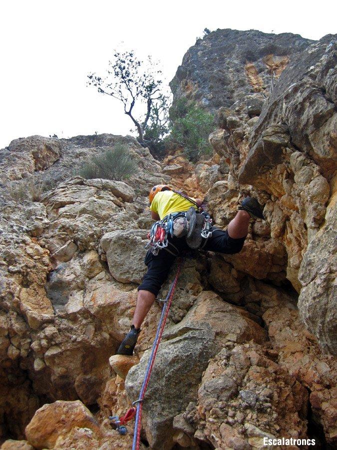 El darrer llarg és el més escalador (Foto: Jose V.)