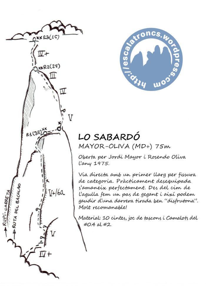 Ressenya de la via Mayor-Oliva al Sabardó